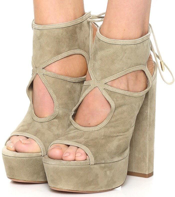 Aquazzura Sexy Thing Plateau Sandals