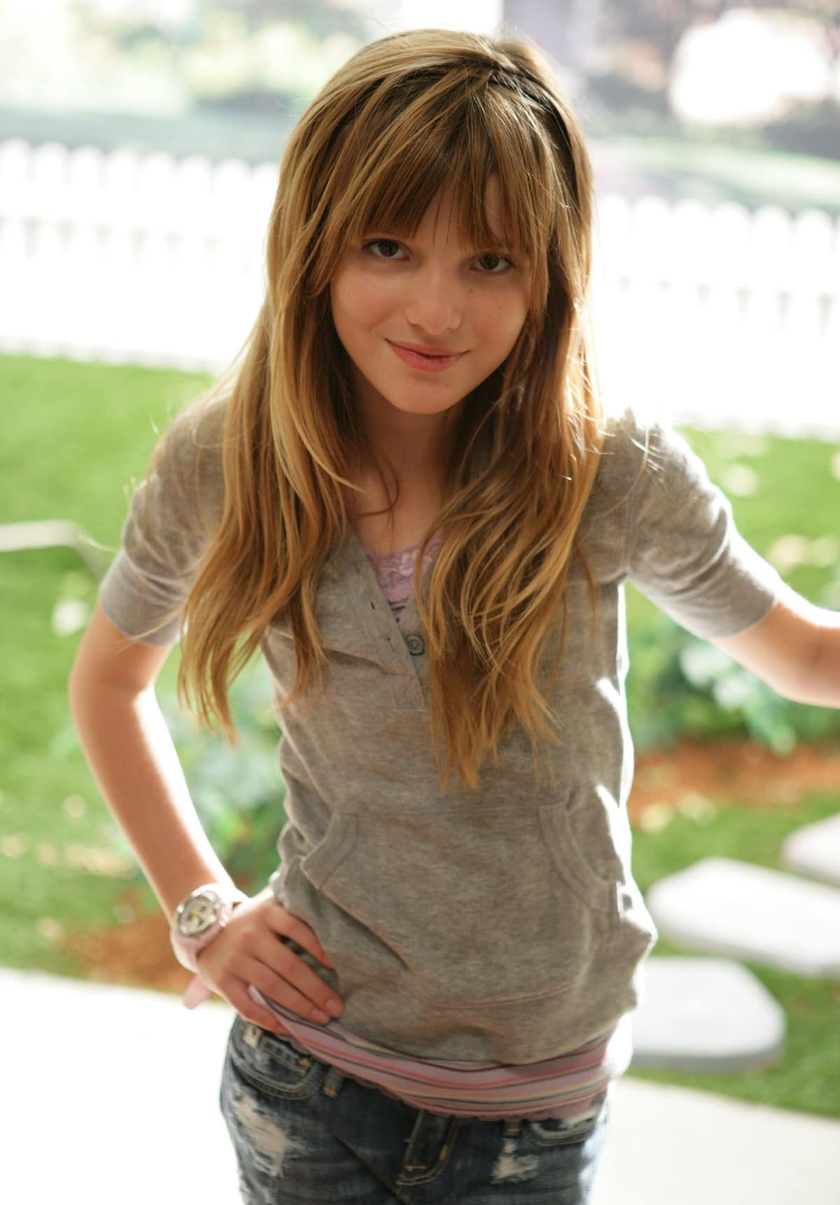 Bella Thorne as Ruthy Spivey in the drama series My Own Worst Enemy