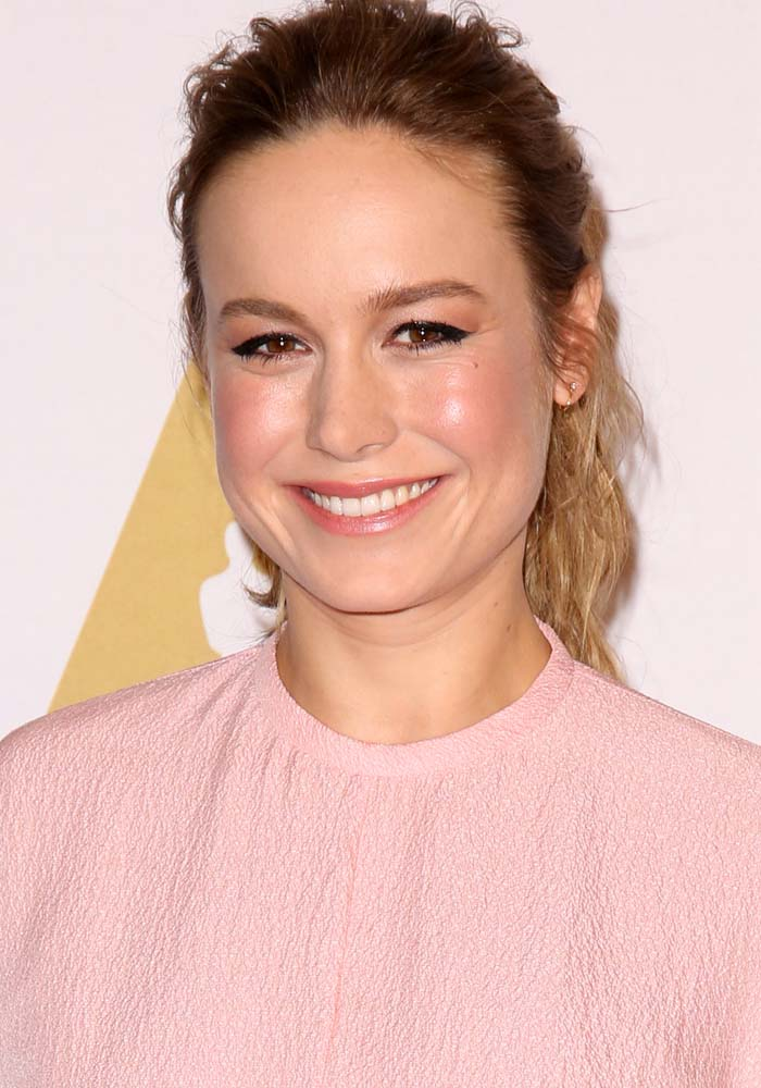 Brie entertained press questionsabout her Oscar nomination at the Academy Awards nominees luncheon in Los Angeles