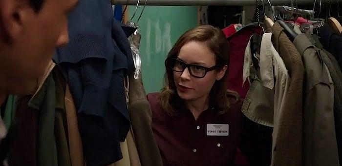 Brie Larson makes an appearance in the sitcom Community as Rachel