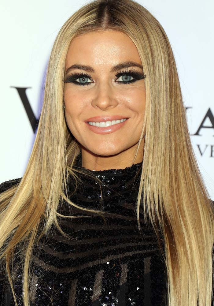 Carmen Electra wears her hair down at the 8th annual World Mixed Martial Arts Awards