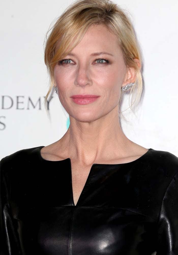 Cate Blanchett Lancome BAFTA Rupert Sanderson 1