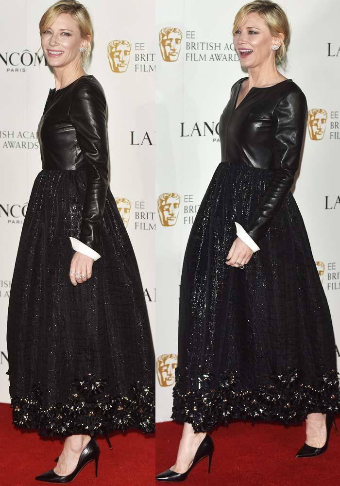 Cate Blanchett Lancome BAFTA Rupert Sanderson 2