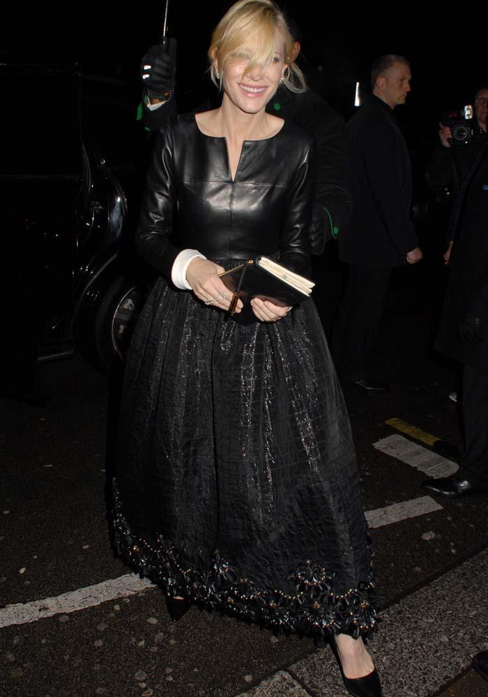 Cate Blanchett Lancome BAFTA Rupert Sanderson 4