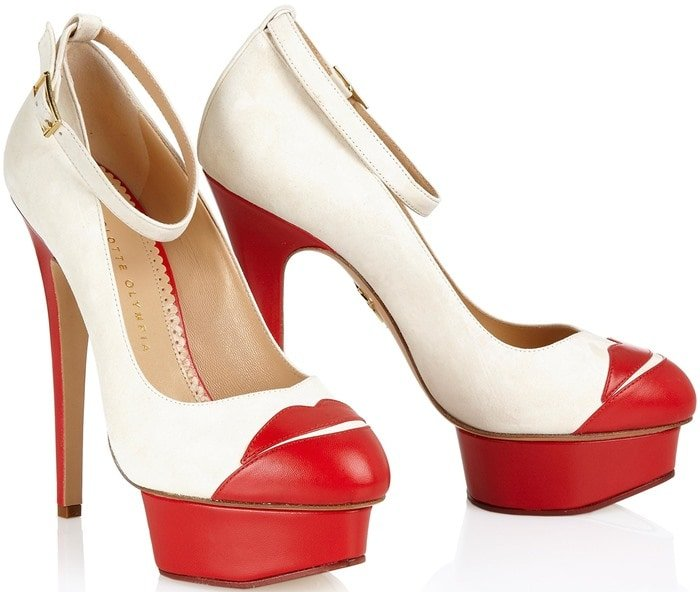 Charlotte Olympia Red Kiss Me Dolores