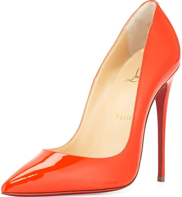 Christian-Louboutin-So-Kate-Pumps-Orange-Patent