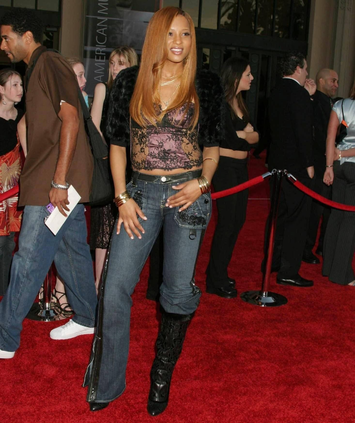 Ciara celebrates the release of her first album Goodies at the 32nd Annual American Music Awards