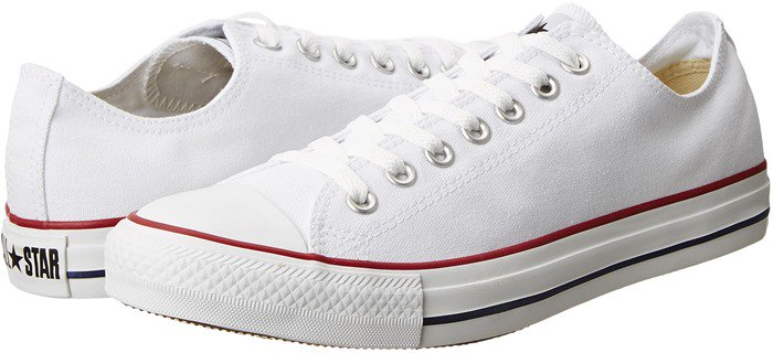 Chuck Taylor All Star Classic Low Top Sneaker in Optical White