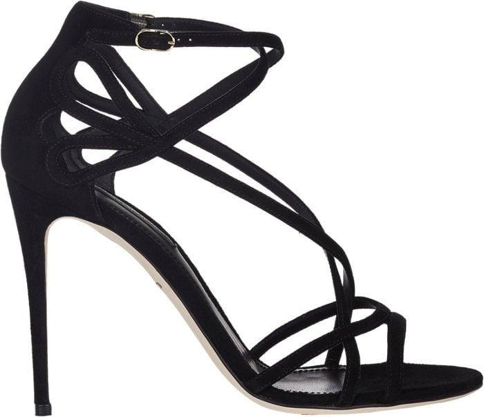 Dolce & Gabbana Crisscross-Strap Sandals 1