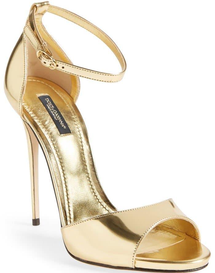 Dolce & Gabbana Ankle Strap Sandals
