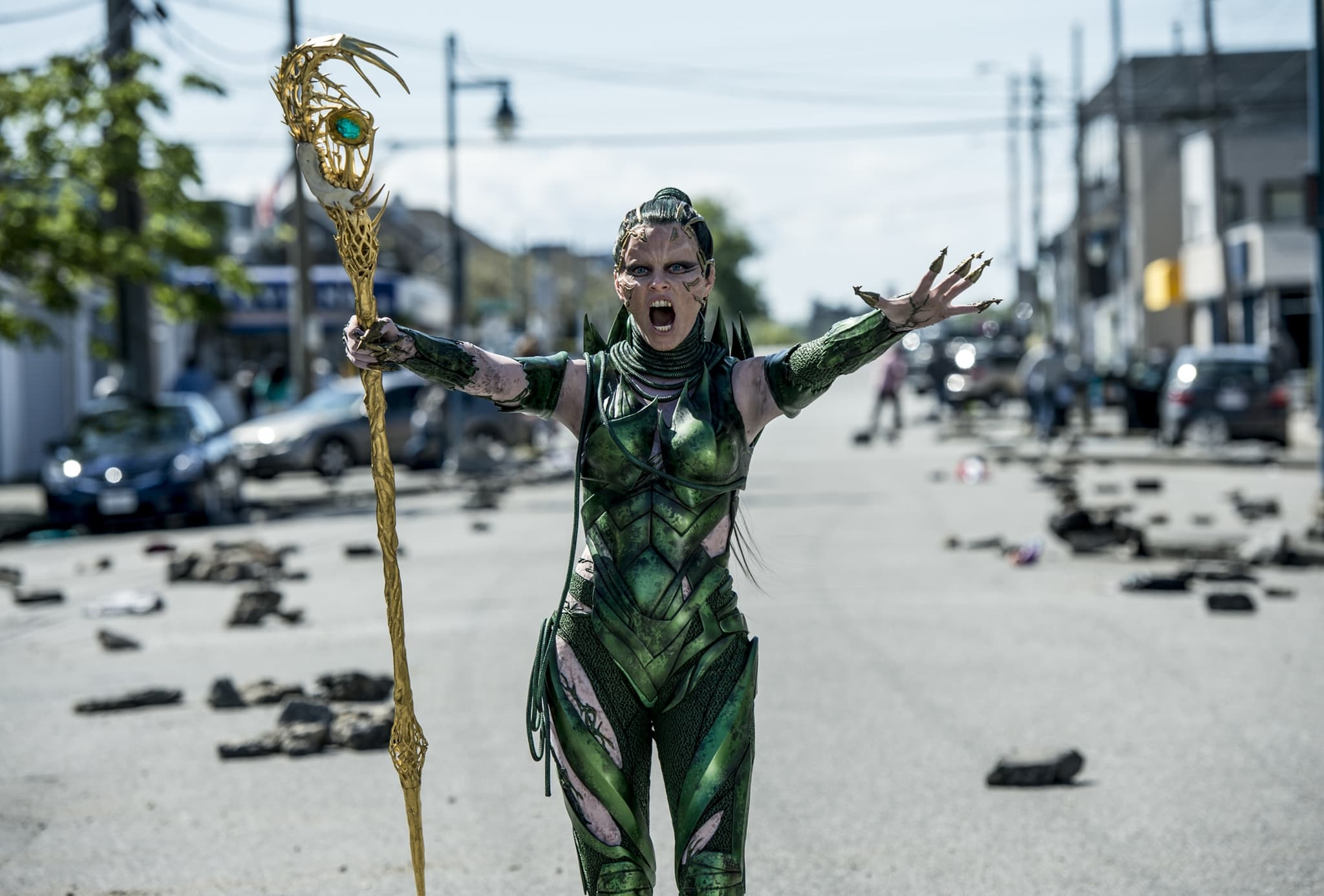 Elizabeth Banks was nominated for Choice Movie Villain at the 2017 Teen Choice Awards