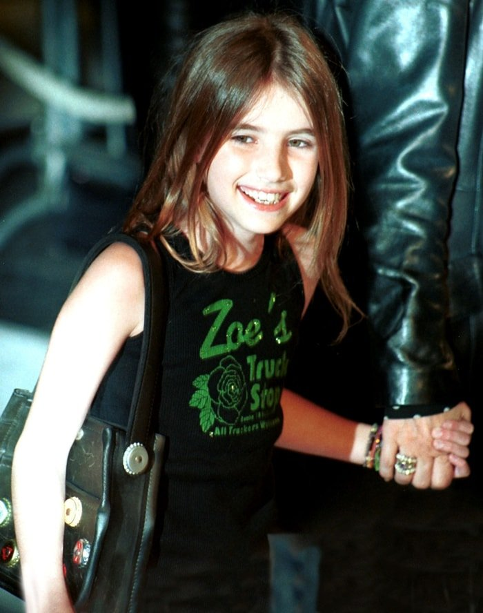 Emma Roberts auditioned for the role of Johnny Depp's daughter when she was 9