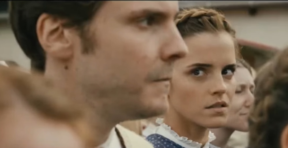 Inspired by a true story, Colonia stars Emma Watson as a young woman who joins the cult Colonia Dignidad to rescue her boyfriend Daniel