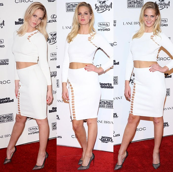 Erin-Heatherton-Sports-Illustrated-white-ribbed-cutout-coords