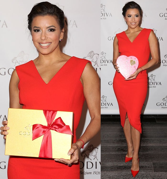 Eva-Longoria-Valentine's-Day-With-Godiva