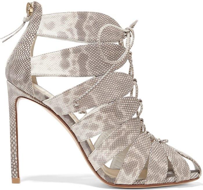 Francesco Russo Lace-up karung sandals