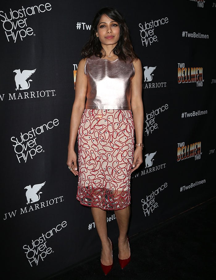 Freida-Pinto-short-film-Two-Bellmen-Two-premiere