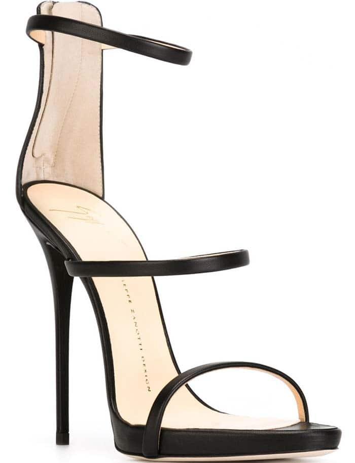 Giuseppe Zanotti 'Coline' Patent Leather Strappy Sandals