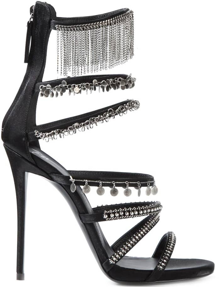 Giuseppe Zanotti Design fringed sandals