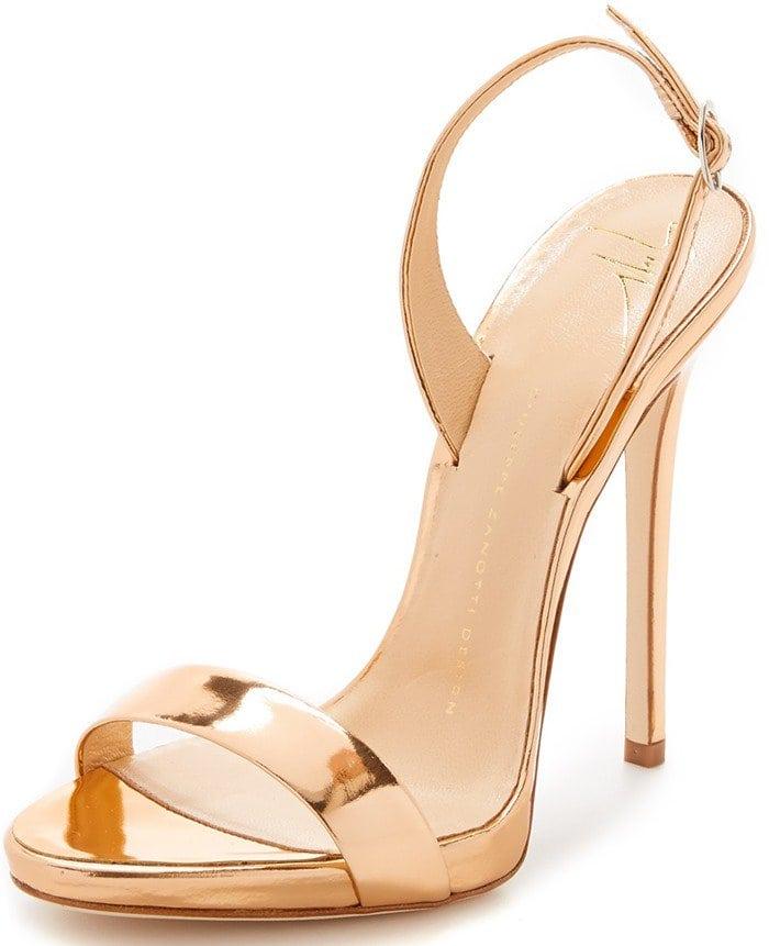 Giuseppe Zanotti Gold Strappy Sandals