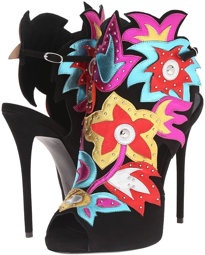 Giuseppe Zanotti Open Back Applique Pump