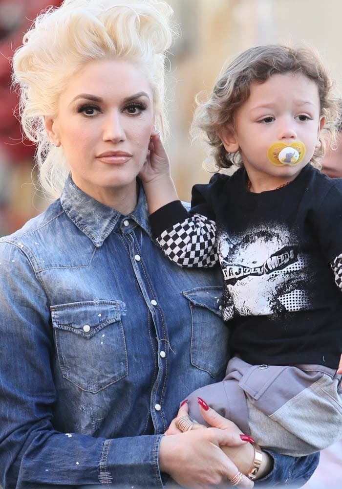 "Gwen Stefani seen at the ABC studios for ""Jimmy Kimmel Live!"""