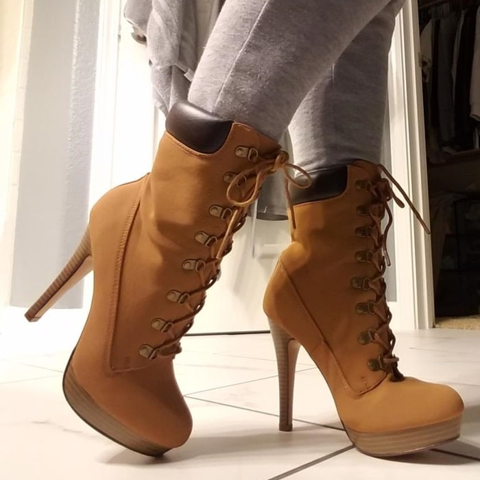Hiking Boots With High Heels