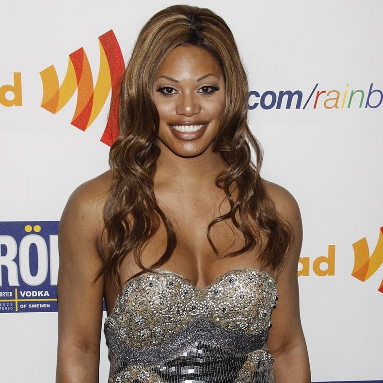 Inspirational actress Laverne Cox attends the 22nd Annual GLAAD Media Awards