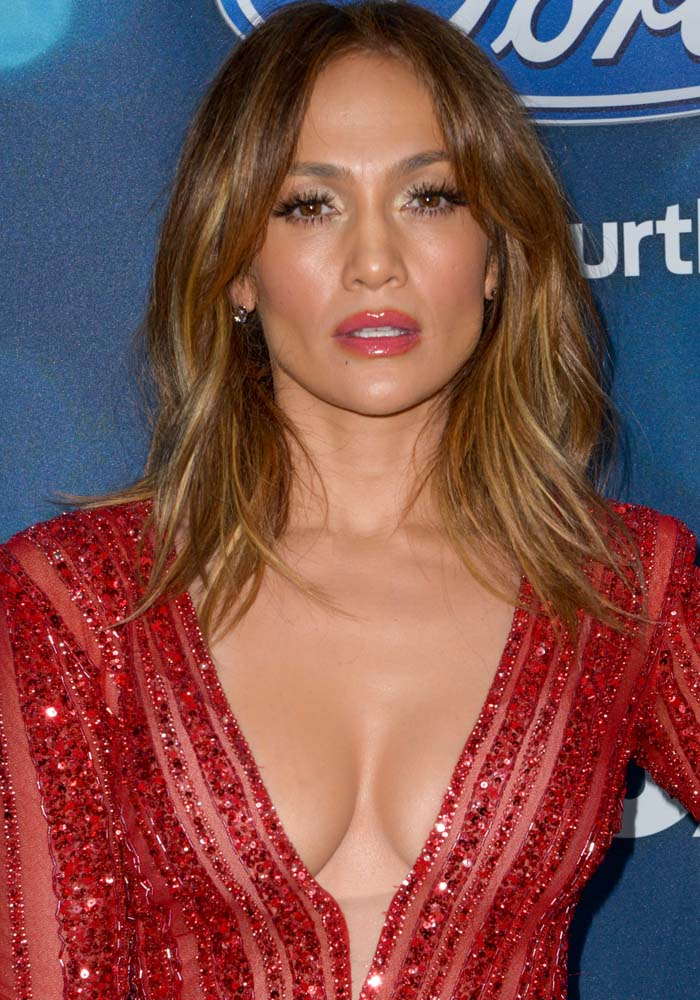 """Jennifer Lopez at the """"American Idol"""" Farewell Season Finalist Party at the London Hotel in West Hollywood on February 26, 2016"""