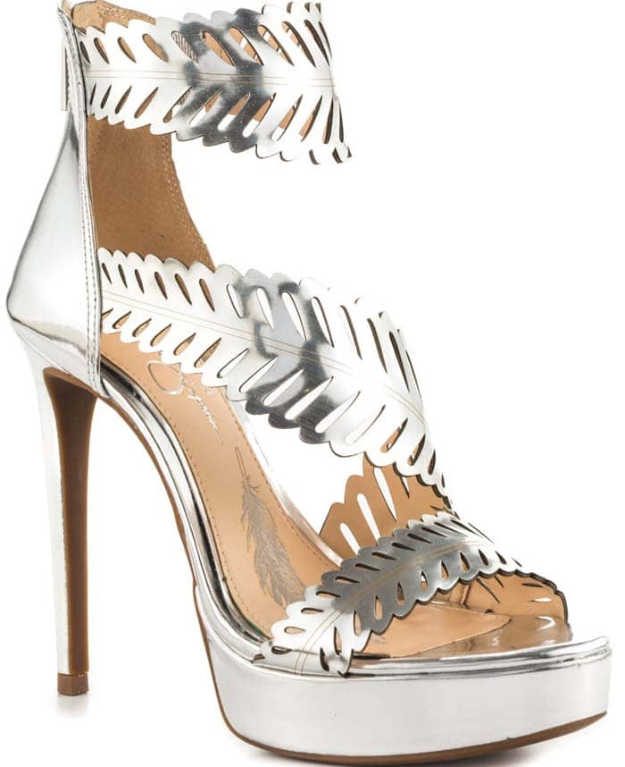 Jessica Simpson Azure Silver Dress Shoes