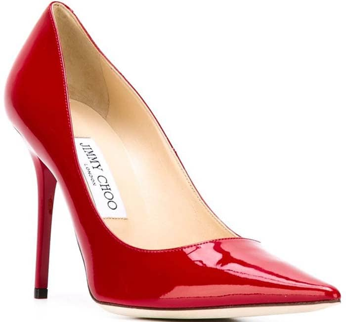 Jimmy Choo Abel Pumps in Red Patent