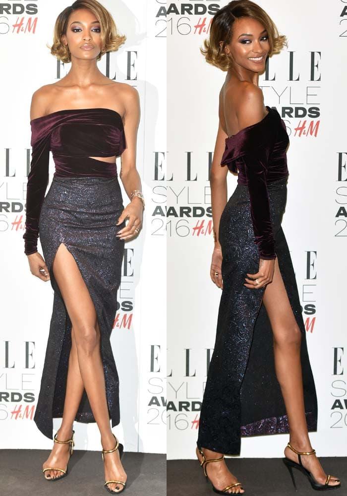 Jourdan Dunn Elle Style Awards Giuseppe Zanotti 3