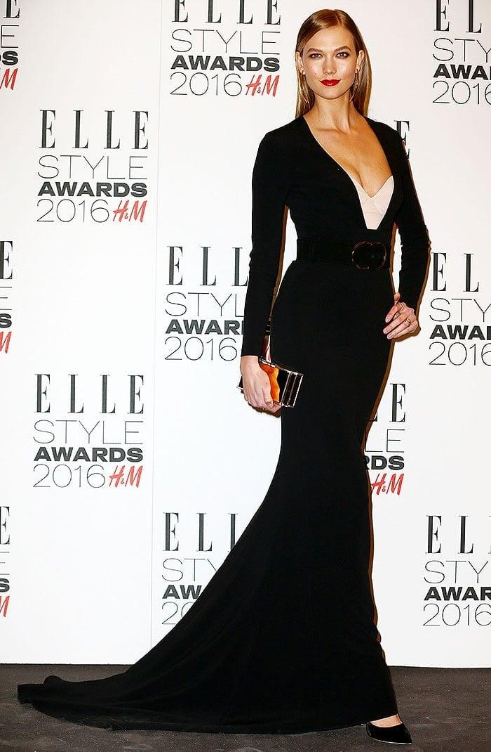 Karlie Kloss 2016 Elle Style Awards 1