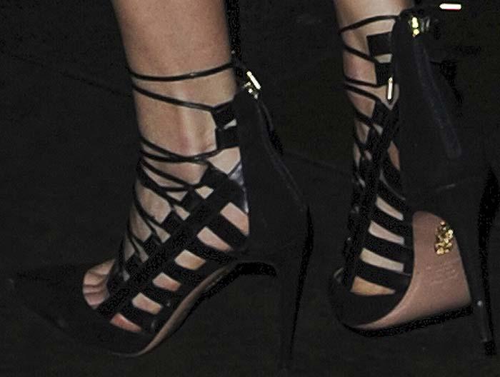 Karlie Kloss Vogue 100 Aquazzura 3