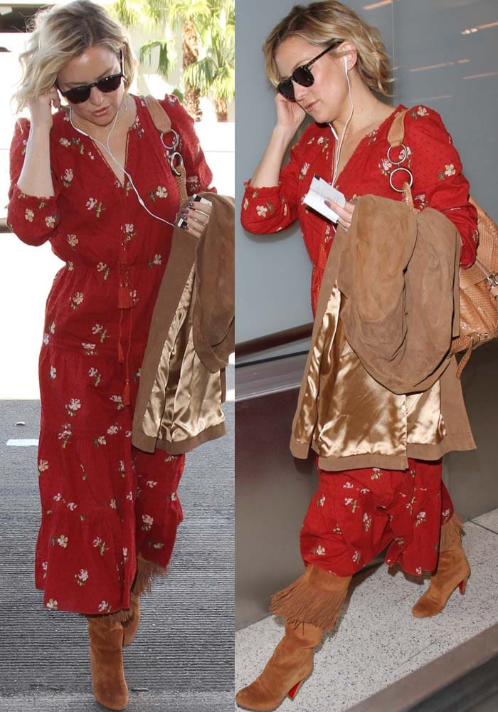 Kate Hudson LAX Christian Louboutin 3