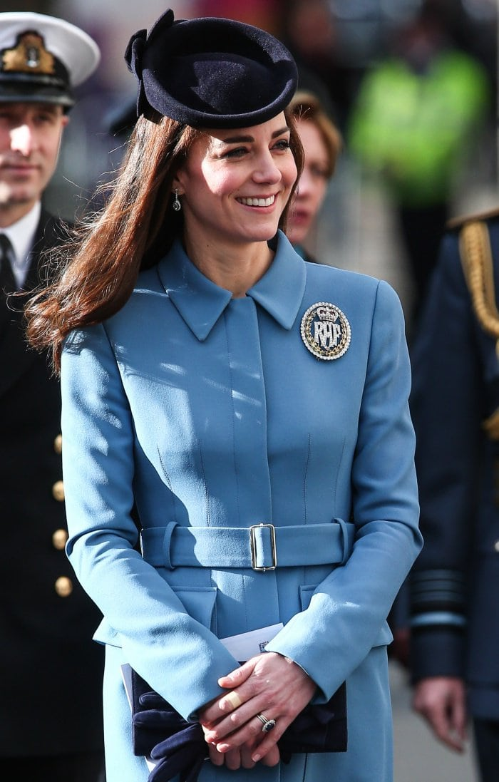 Duchess of Cambridge Rupert Sanderson Cadets 2