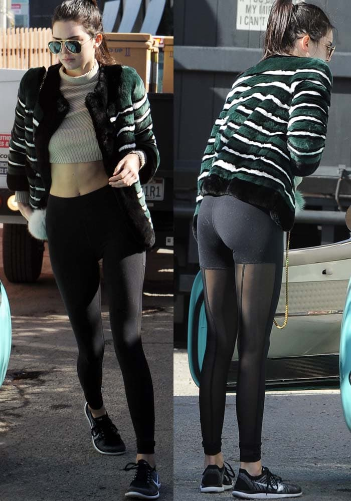 Kendall Jenner Corvette Coffee Shop Nike Flyknit 5