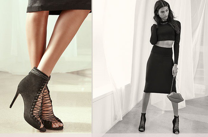 Kendall Kylie Ginny Suede Lace-Up Bootie