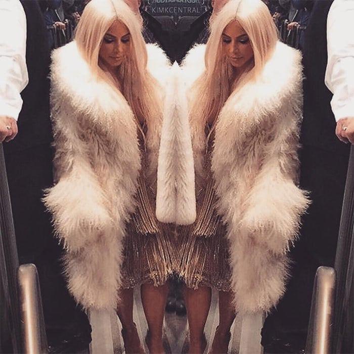 Kim Kardashian Yeezy Season 3 show