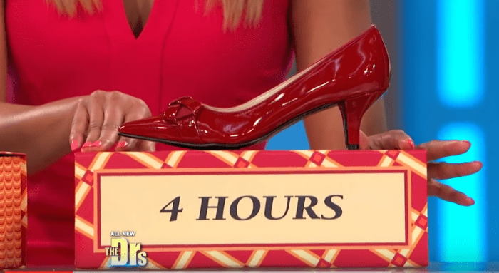 Kitten Heels Wearing Time Red Podiatrist Health