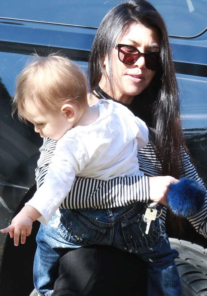 Kourtney Kardashian Reign Lunch APL 4