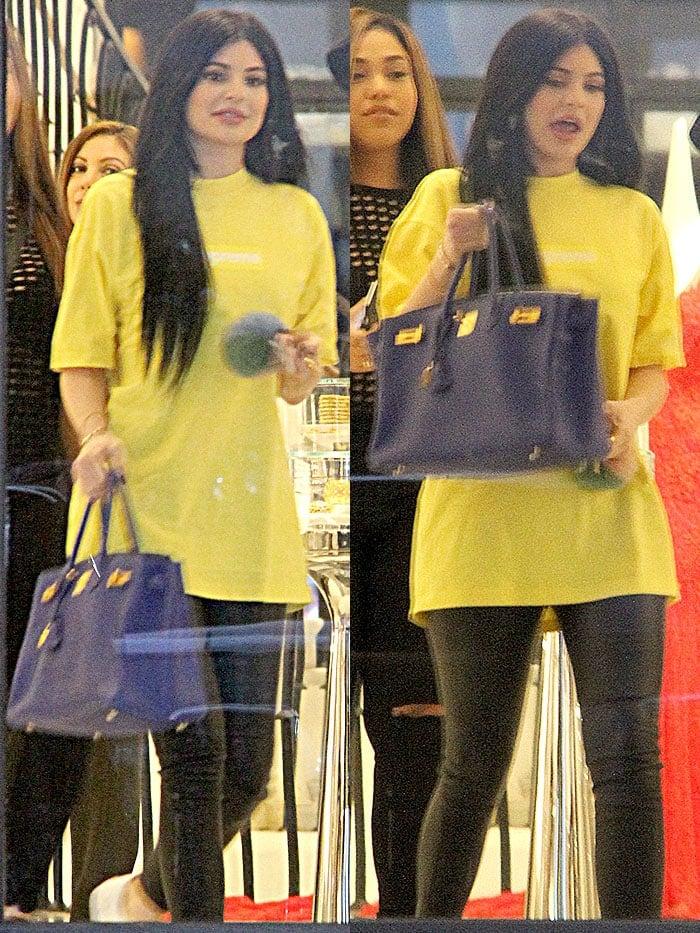 Kylie Jenner Barneys New York