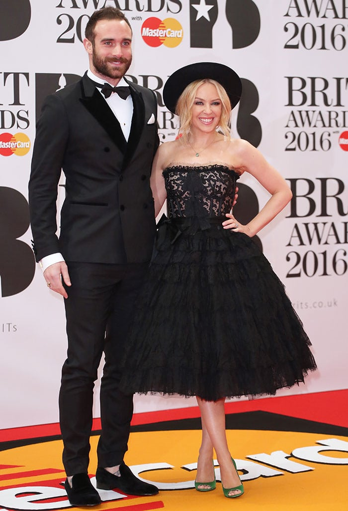 Kylie-Minogue-Joshua-Sasse-BRIT-Awards-2016
