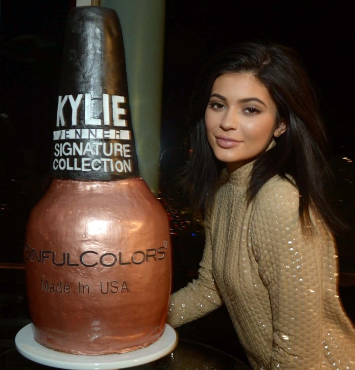 Kylie Jenner Signature Sinful Color Official Launch Party