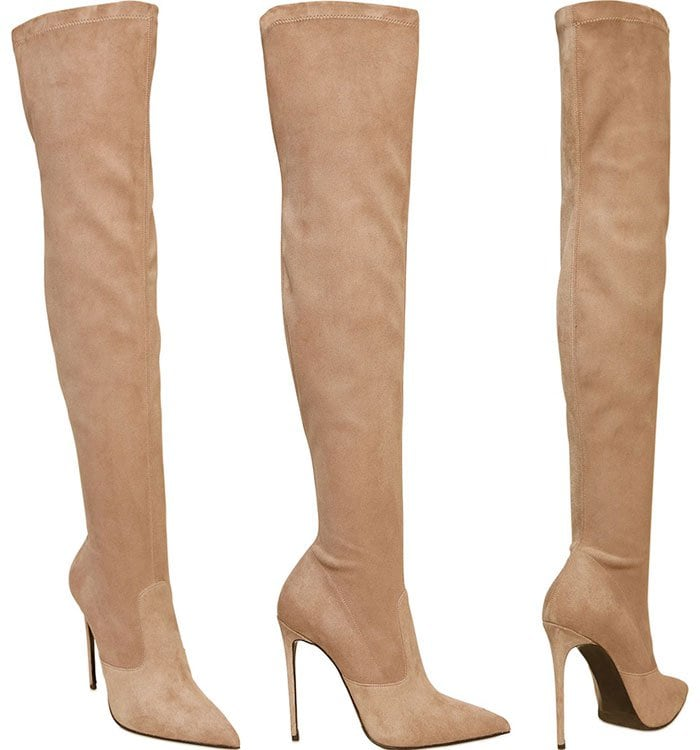 Le-Silla-Stretch-Suede-Over-the-Knee-Boots