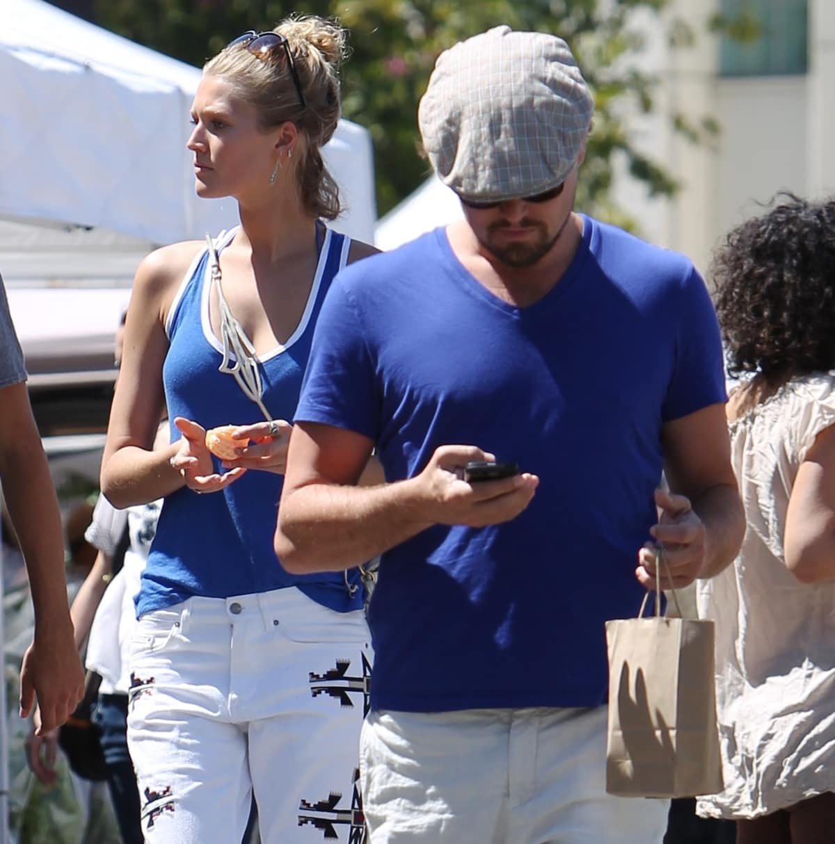 Leonardo DiCaprio and Toni Garrn split in late 2014 after privately dating since May 2013