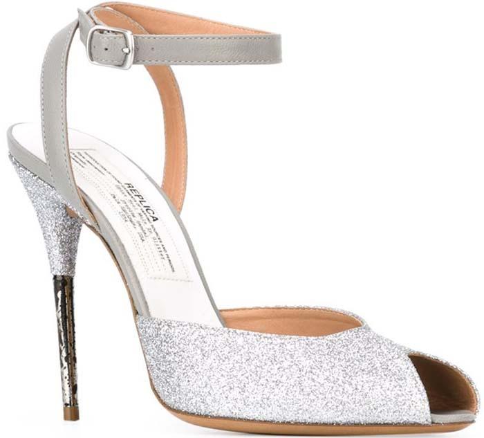 Maison Margiela Glitter Embellished Sandals
