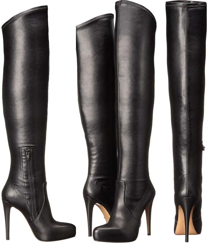 Massimo Matteo Thigh High Stiletto Boots
