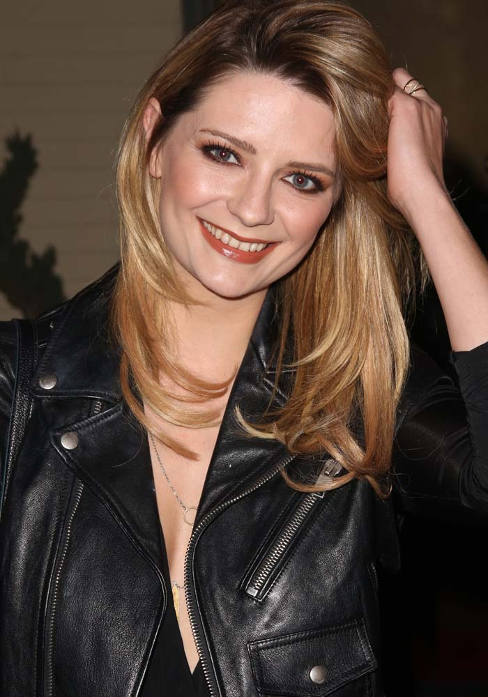 Mischa Barton wears her hair down at the NYLON Muses & Music Grammy Kick-Off Party