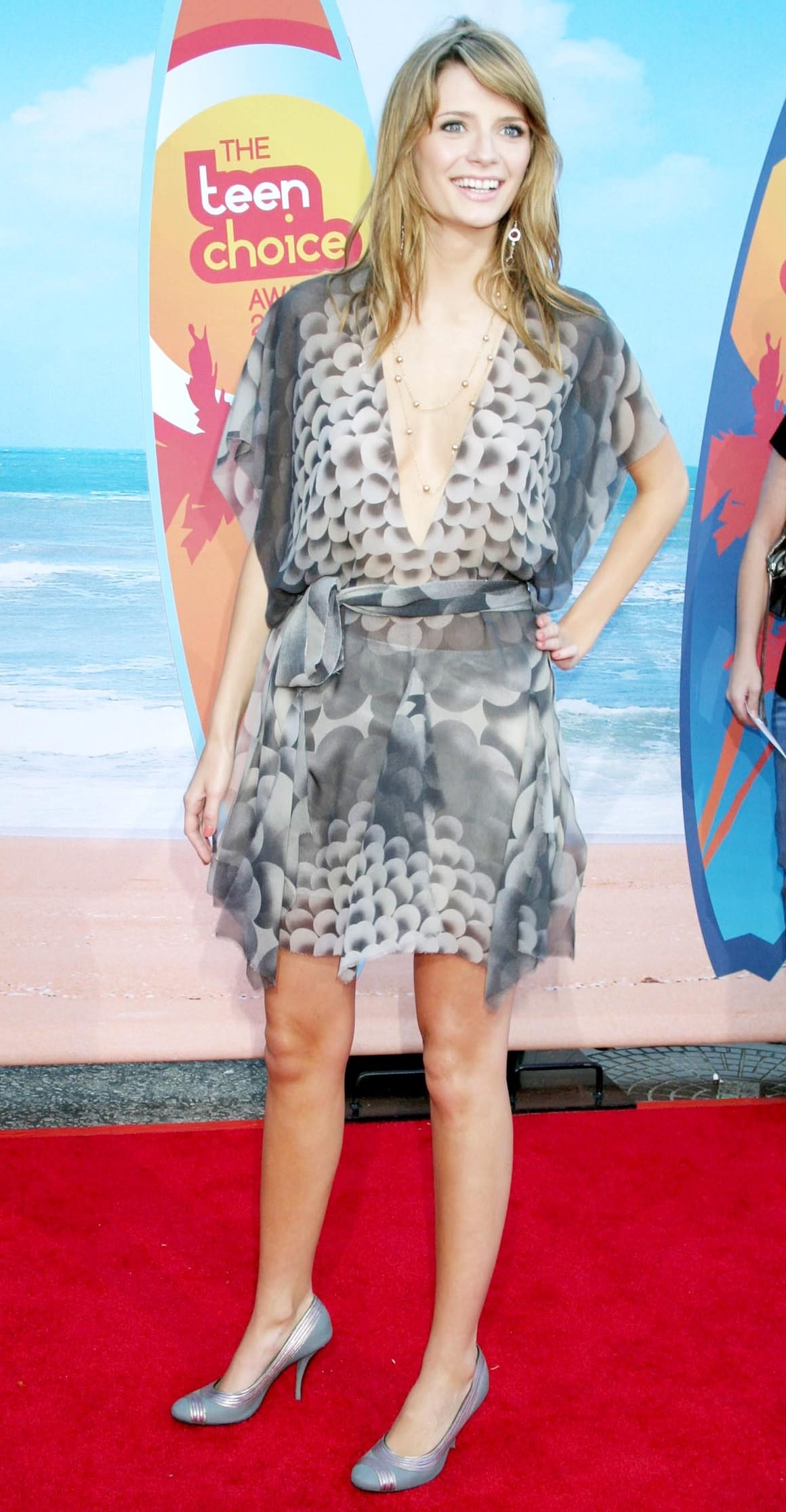 Mischa Barton received two Teen Choice Awards for her portrayal of Marissa Cooper in the Fox television series The O.C.